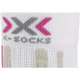 X-Socks Run Speed Two Socks Dam white/fuchsia